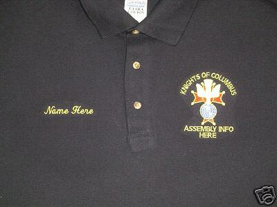 Embroidered Polo Shirts - Stitch America, the Embroidery Superstore